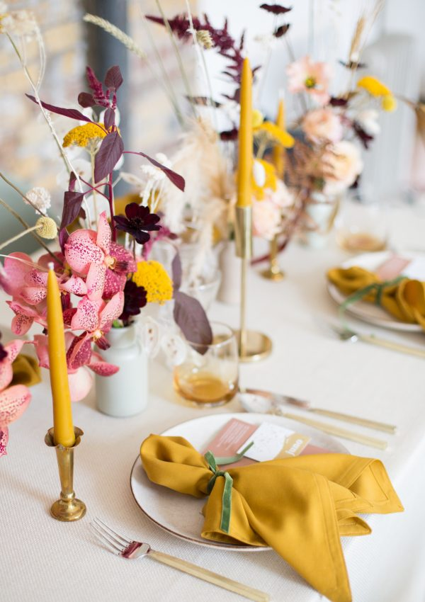 How to re-purpose décor for a stylish wedding day