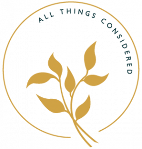 All Things Considered round logo