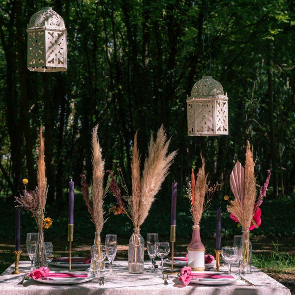 Boho Woodland Dining