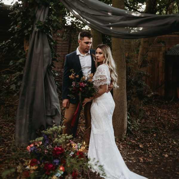 Jewel-toned Elopement Styling