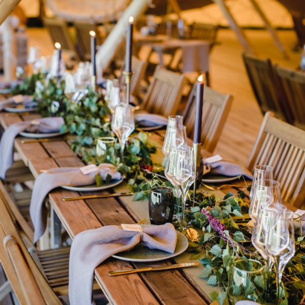 Modern Rustic Table Styling Inspiration